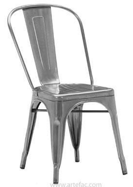 Vintage industrial furniture modern industrial dining for Modern industrial dining chairs