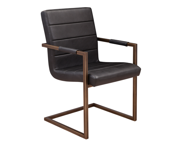 Chairs Dining Chairs Sr 100888 Leather Arm Chair W