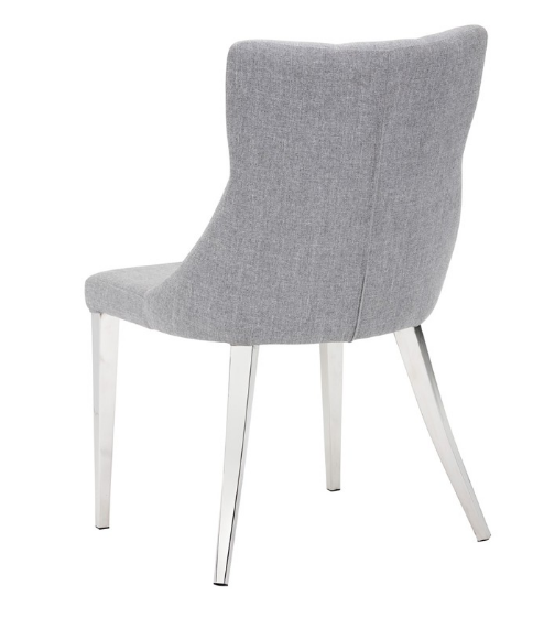 Chairs Dining Chairs Sr 101502 Fabric Dining Chair W