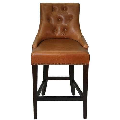 Stools Bar Stools R 1081 Antique Brown Top Grain