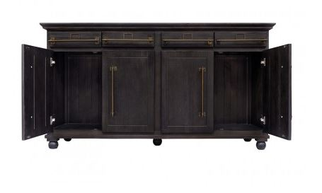 Dining Accent Tables Rcd 1291 Brown Buffet Media Unit