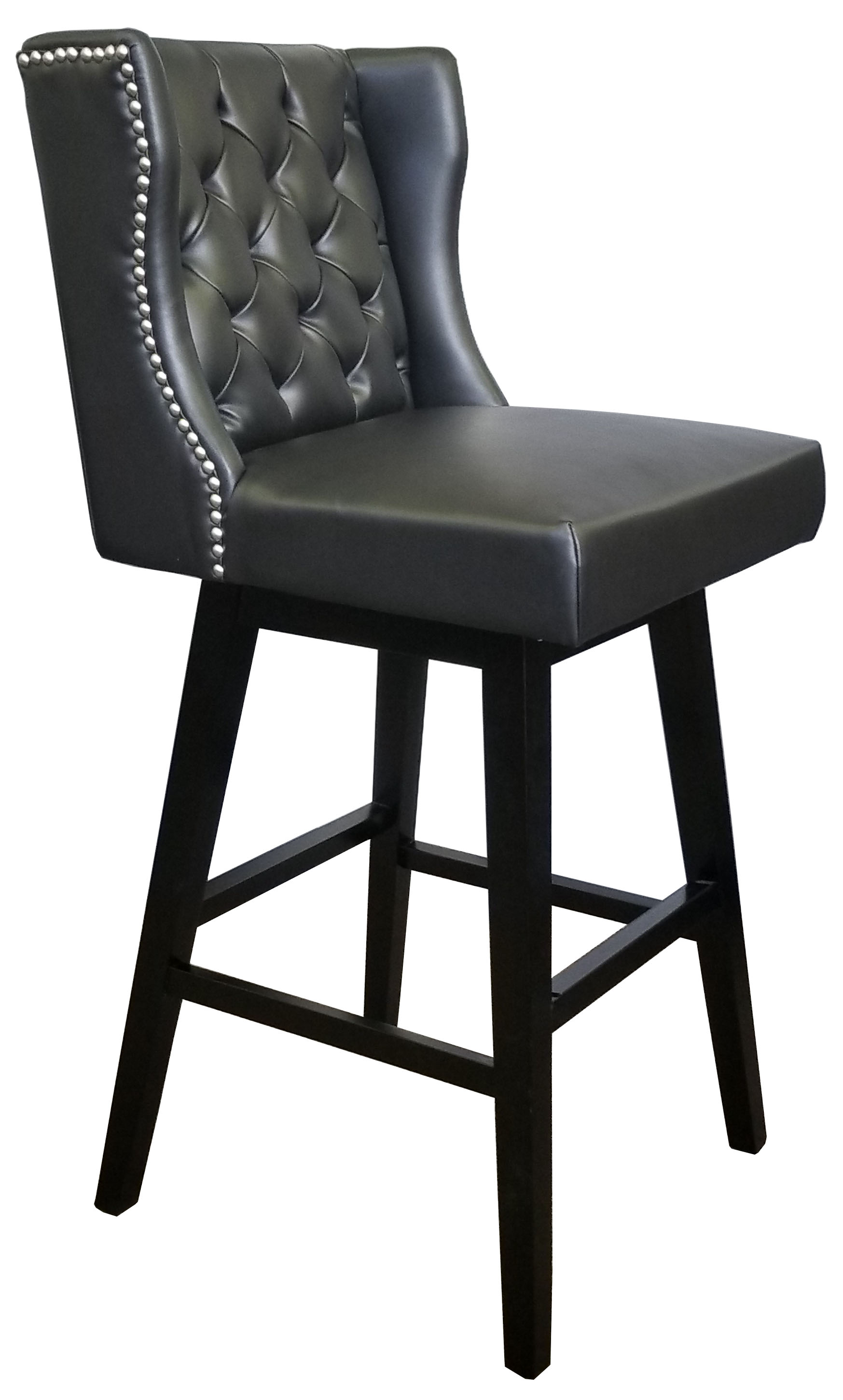 More Clearance Restaurant Swivel Bar Stool In Black