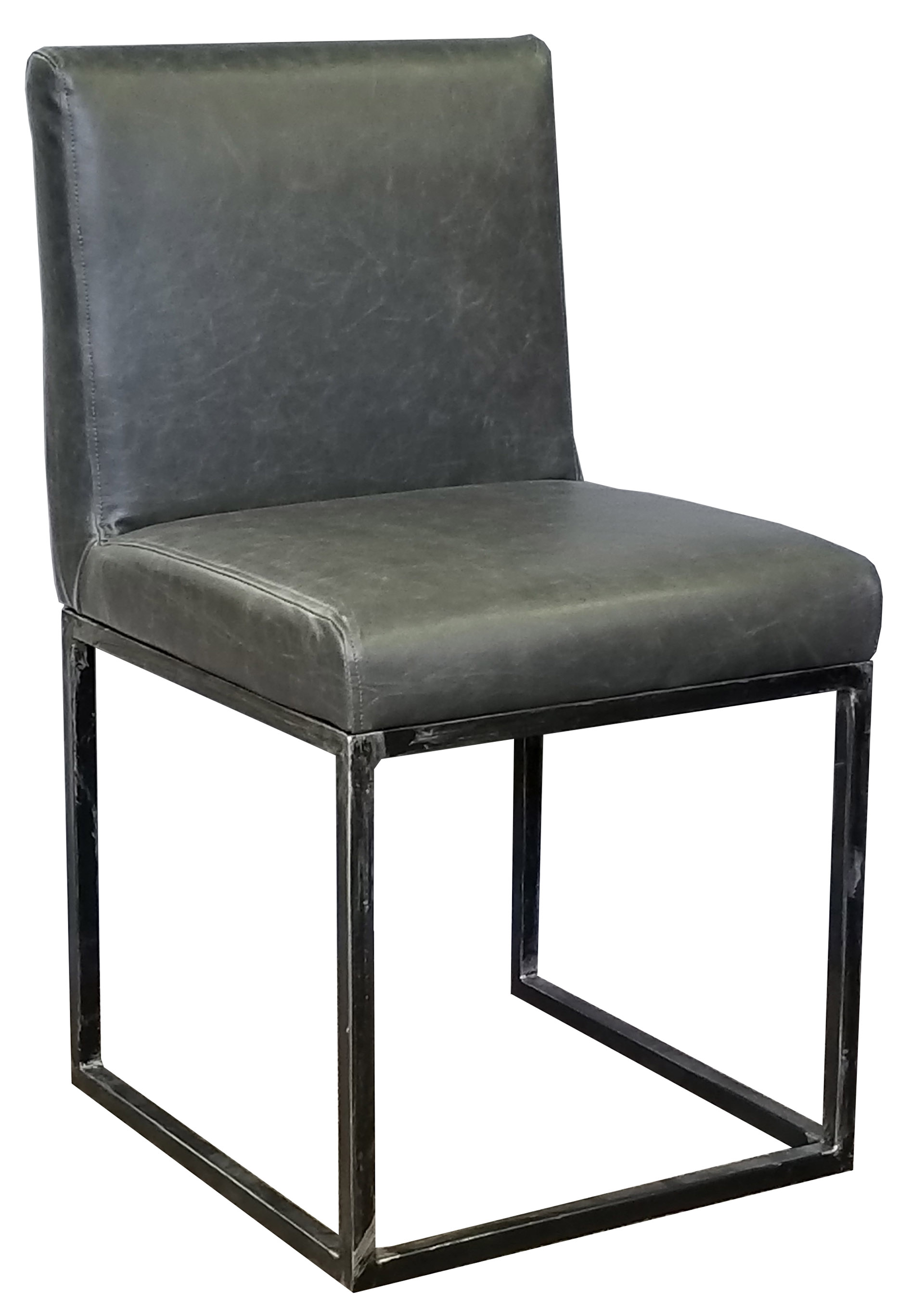 More Clearance Restaurant Chair In Black Leather W
