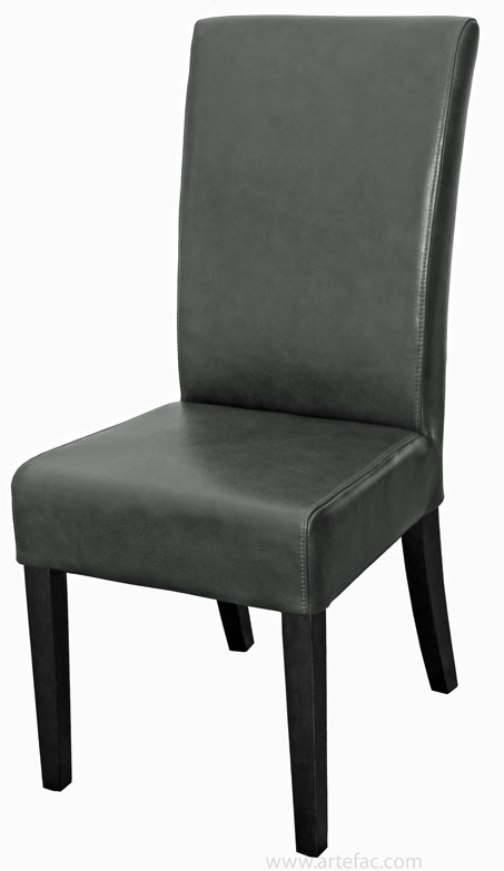 Dining kitchen chairs r 131 top grain leather dining for Off white leather chair
