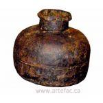 ART-002 Antique Iron Pot