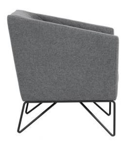 SR-102230 Dark Grey Occasional Chair