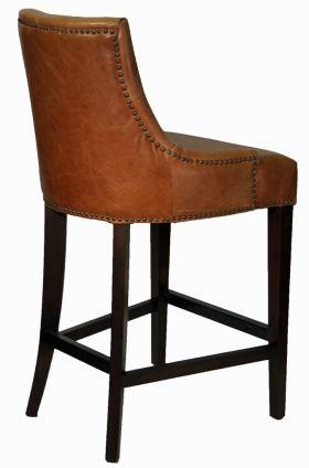 Stools Bar Stools R 1081 Antique Brown Top Grain